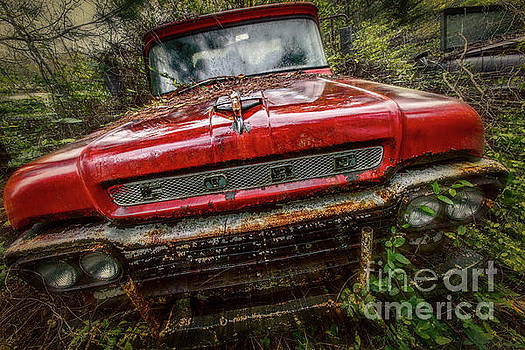 Red Ford by Doug Sturgess