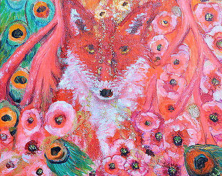 Red Fox First Chakra Animal Totem by Ashleigh Dyan Bayer