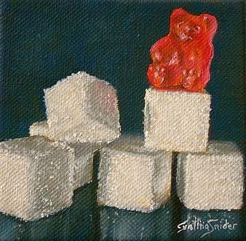 Red Gummy Bear by Cynthia Snider