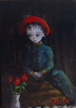 Red hat by Mya Fitzpatrick