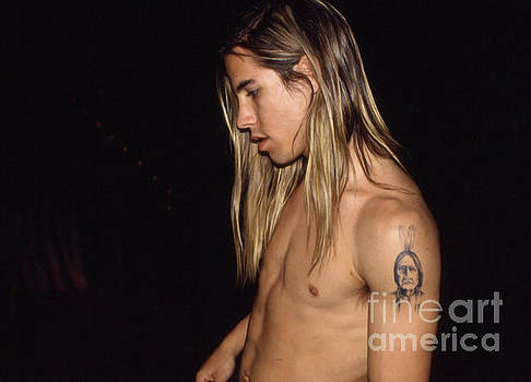 Red Hot Chili Peppers  Anthony Kiedis 1988 by Gregory Dyer