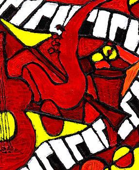 Red Hot Jazz by Wayne Potrafka