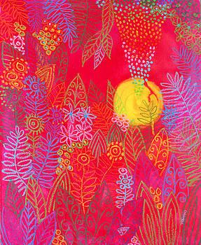 Red Jungle Passionate Sun by Jennifer Baird