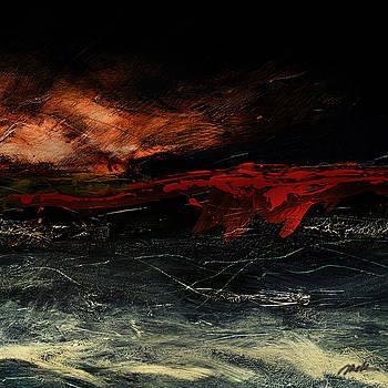 Red Line at Sea by    Michaelalonzo   Kominsky