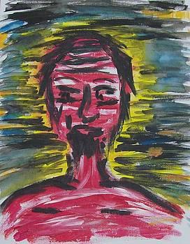 Red man by Samantha  Gilbert