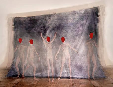 Red mask by Renata Vogl