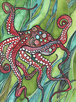 Red Octo by Tamara Phillips