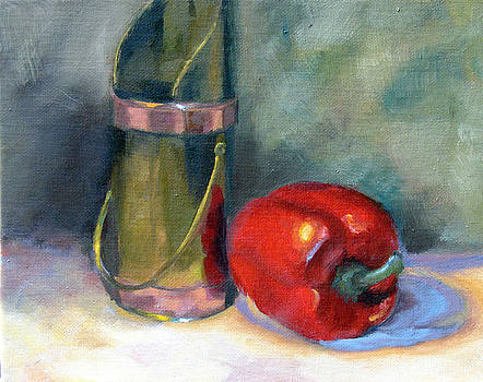 Red pepper by Usha P