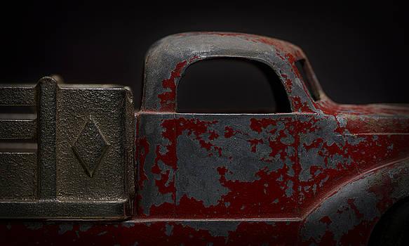 Art Whitton - Red Pickup - Detail