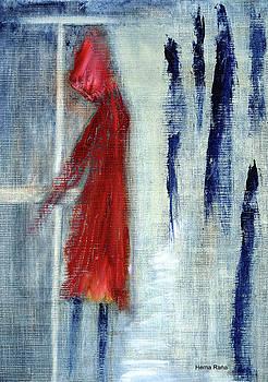 Red Raincoat by Hema Rana