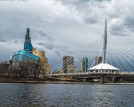 Red River at Winnipeg by Tom Gort