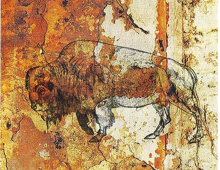 Red Rock Bison by Larry Campbell