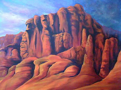 Red Rock Canyon by Patti Lane