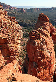 Red Rock Pillar by Wyatt Rivard