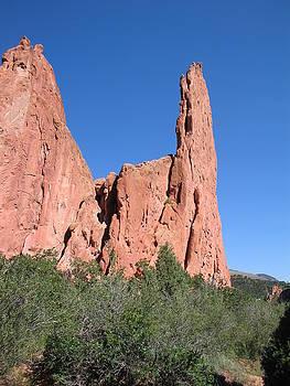 Red Rock Pinnacle by CGHepburn Scenic Photos