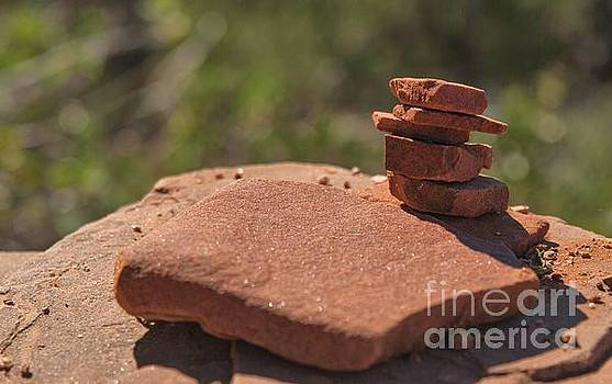 Red Rock Stack by Michelle Hastings