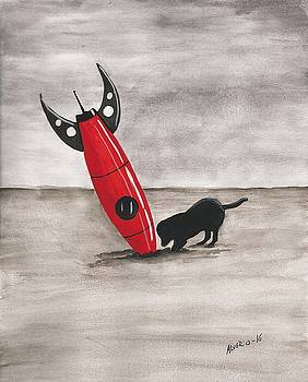 Red Rocket by Edwin Alverio