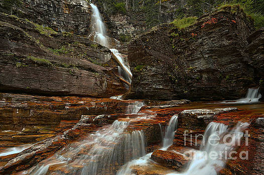 Adam Jewell - Red Rocks And Streaming Water