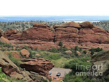 Red Rocks Midway by Kelly Awad