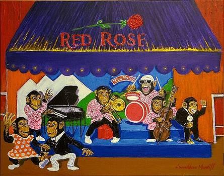 Red Rose Tea Chimpanzees by Jonathan Morrill