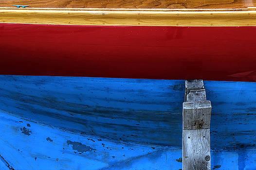 Red Sailboat by Geoffrey Coelho