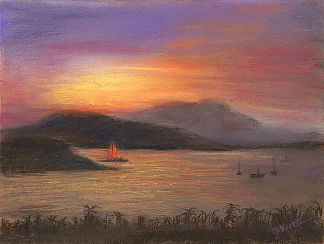 Red Sails by Gail Kirtz