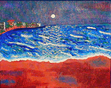 Red Sands of Havana by Angela Annas