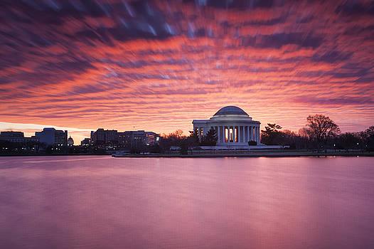 Red Skies At Dawn by Edward Kreis