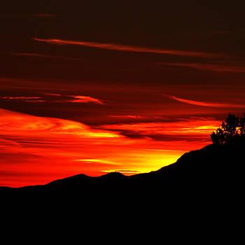 Red Sky at Kolob by Alan Socolik