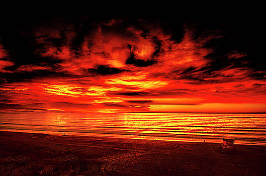 Red Sky Caldron by Joseph Hollingsworth