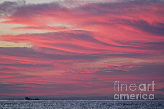 Red sky in the morning by Jamie Rabold
