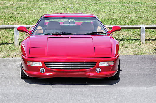 Red sports car by Jeremy Sage