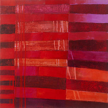Red Stripes 2 by Jane Davies