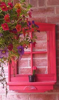 Red Window by Deyanira Harris