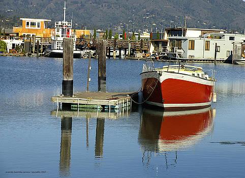 Redboat by Vari Buendia