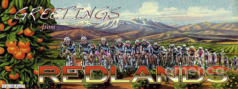 Redlands Greetings by Linda Weinstock
