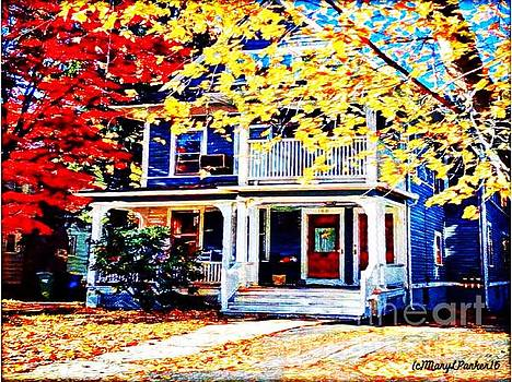 Reds And Yellows by MaryLee Parker