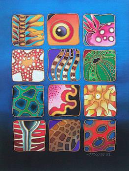 Reef Designs VII by Maria Rova