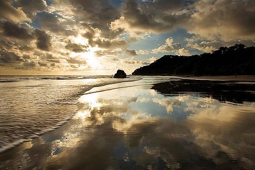 Reflected Costa Rica Sunset by Matt Tilghman