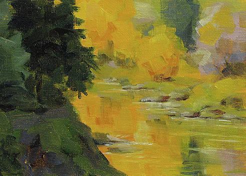 Reflecting Fall by Karen Ilari