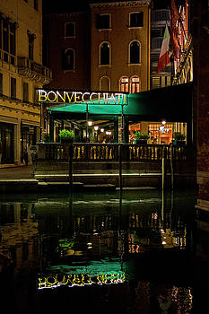 Reflecting on the Bonvecchiati Hotel by Jean Haynes