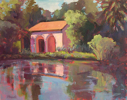 Reflections at Lotusland by Jennifer Boswell