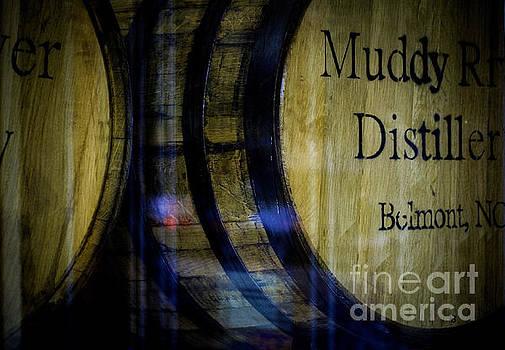 Reflections of Distillery Barrels by JW Hanley