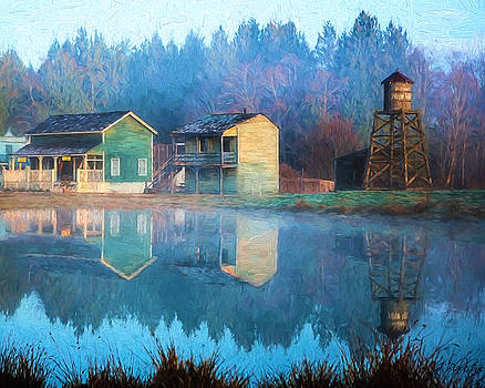 Reflections Of Hope - Hope Valley Art by Jordan Blackstone