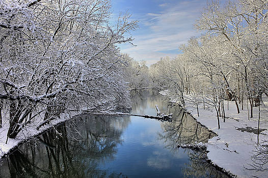 Reflections Of Winter by Dan Myers