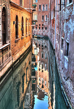 Reflections Venice Italy by Tom Prendergast