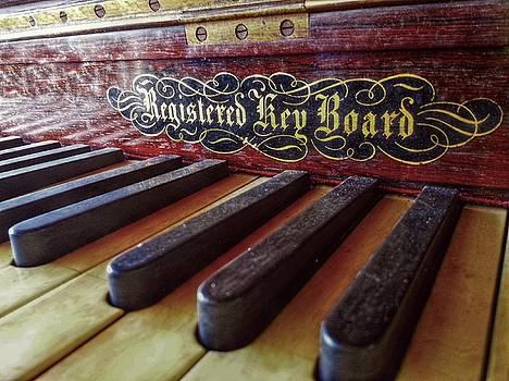 Registered Key Board by Linda Unger
