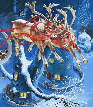English School - Reindeer