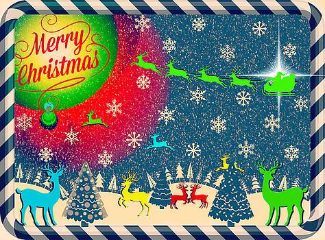 Reindeer Games Redux II by Aurelio Zucco
