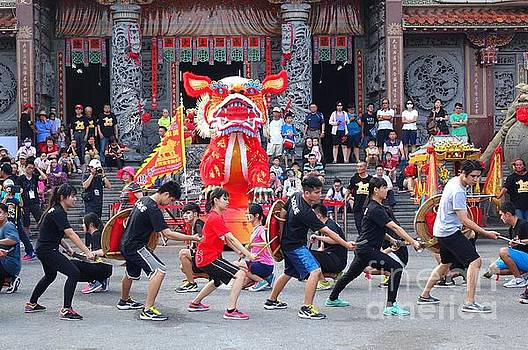 Religious Martial Arts Performance in Taiwan by Yali Shi